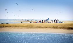 Kite surf El Gouna mer Rouge