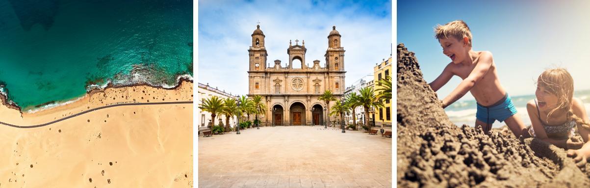 Alle bestemmingen Spanje