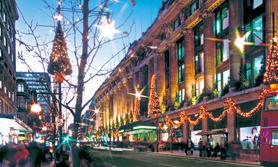 London Christmas Shopping
