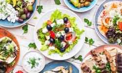 Korfu griechisches Essen