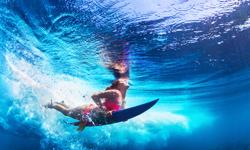 Surfen Korfu
