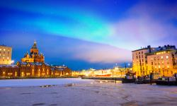 Finnland Winter Helsinki