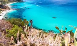 Italien Kalabrien Meer