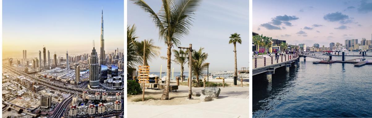 Meer populaire plaatsen in Dubai