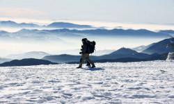 Slowenien Winterurlaub Schneeschuhe