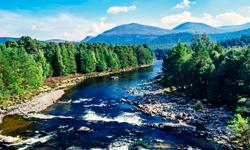 Schottland River Dee Last Minute