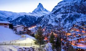 Winter Ski Schweiz