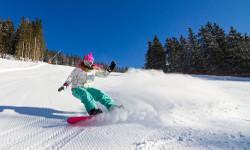 Skigebiet Ochsenkopf Winterurlaub Bayern