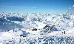 Frankreich Winter Ski
