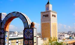 Tunesien Tunis Synagoge