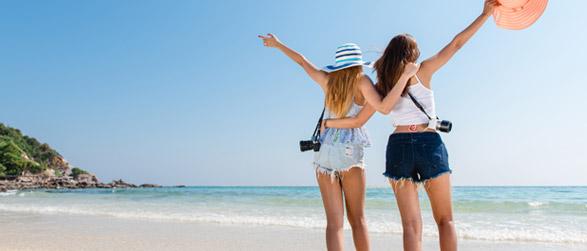 Frankreich Urlaub Teenager