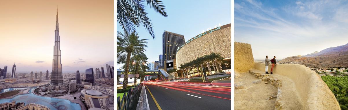 Bezienswaardigheden Verenigde Arabische Emiraten
