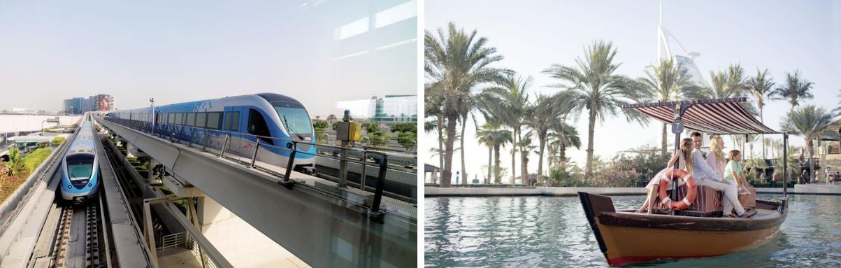 Vervoersmiddelen Dubai