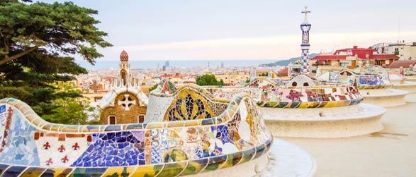 Vlucht en hotel Barcelona