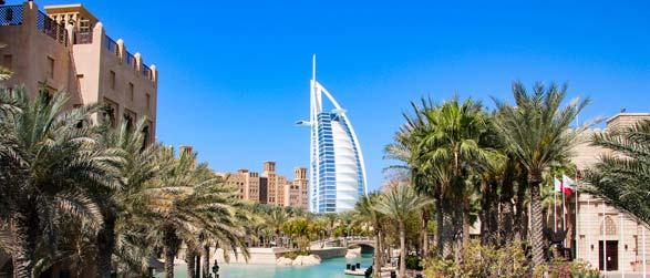 Vlucht en hotel Dubai
