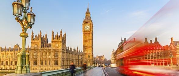 Vlucht en hotel Londen