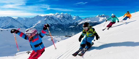 Winter Skirurlaub mit Kids